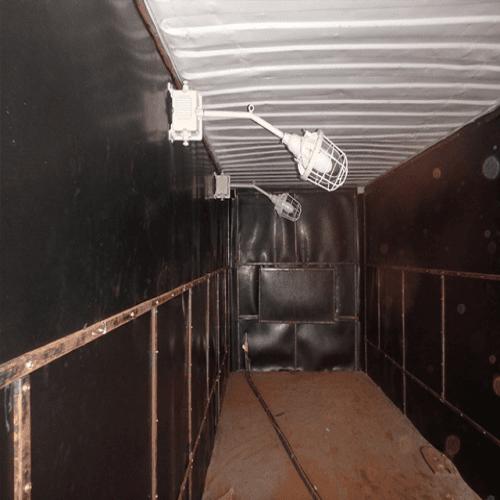 [Tips] Sử dụng container cũ làm buồng phun bi – Giải pháp tiết kiệm