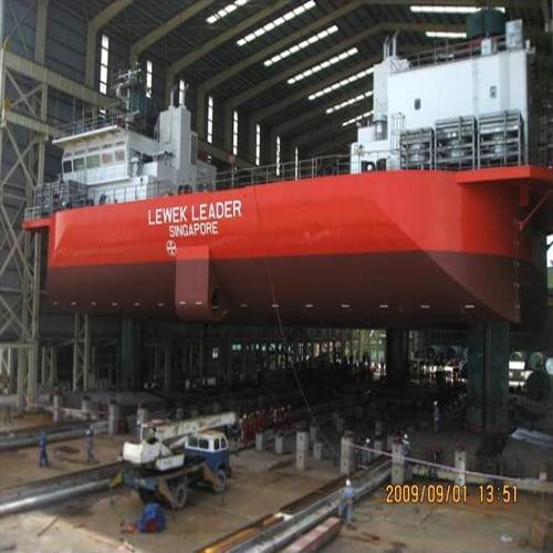 Thi công đóng mới tàu Chemical Tanker H1031, H1032, H1033