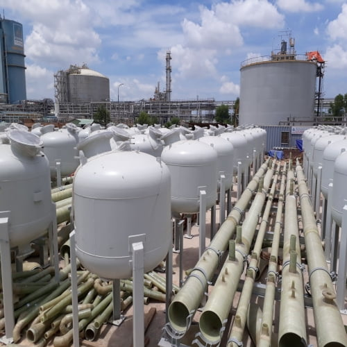 Thi công hệ thống xử lý nước nhà máy Đạm Phú Mỹ mở rộng - NH3