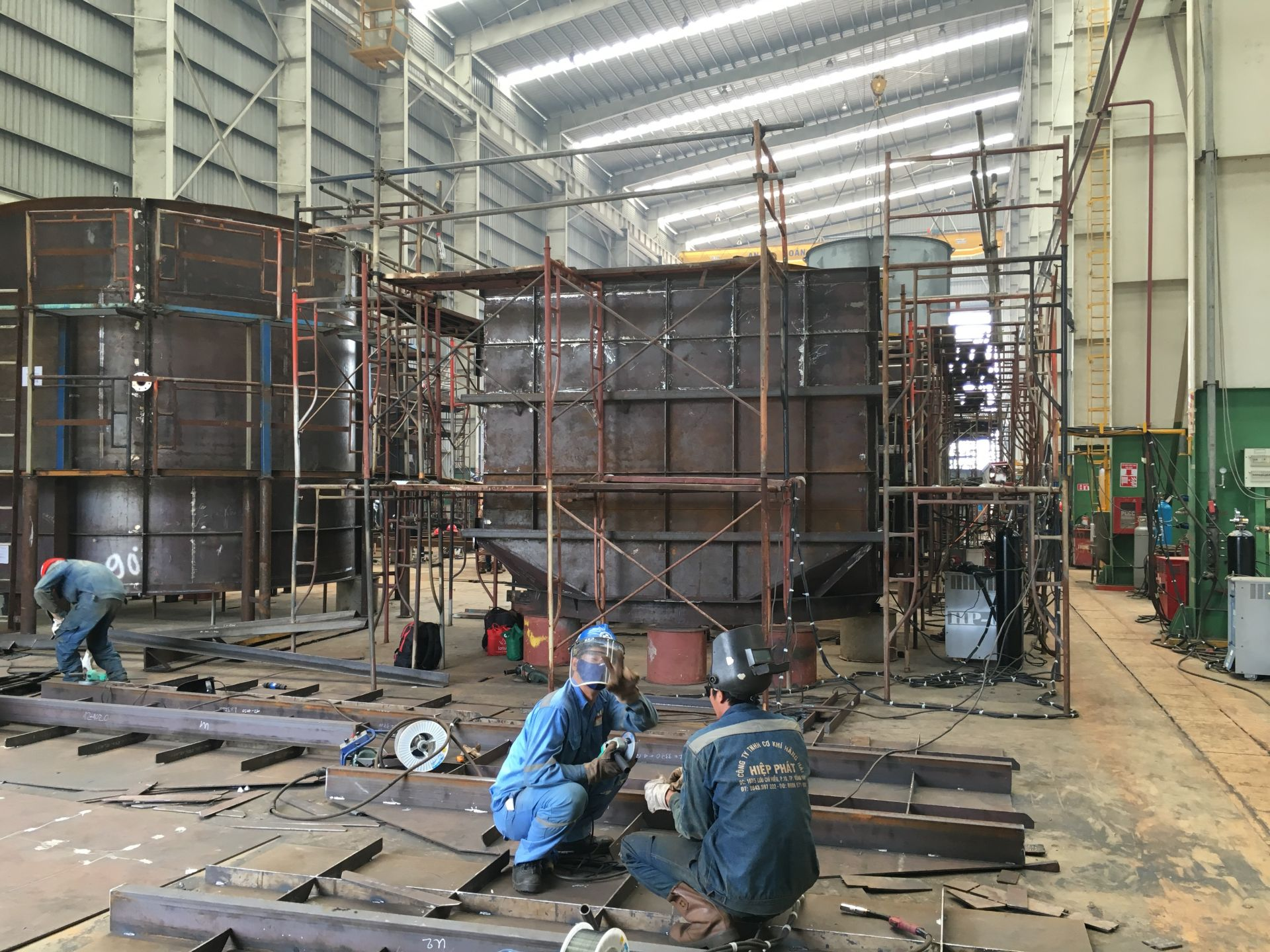 Thi công kết cấu thép nhà máy nhiệt điện Australia - Baltec